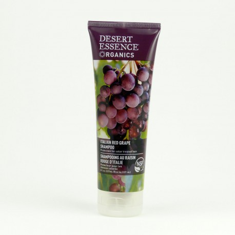 Šampon z červených hroznů