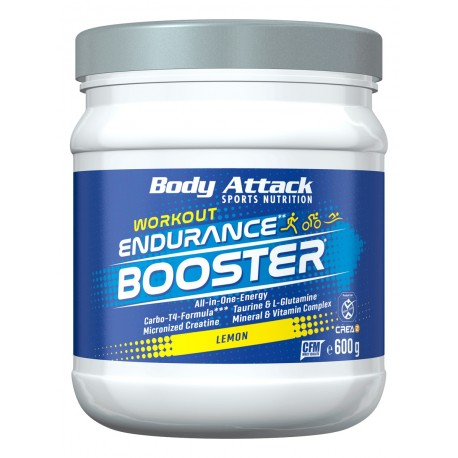 Body Attack Endurance booster Lemon 600g