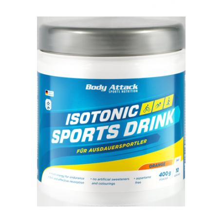 Body Attack, Isotonický sportovní nápoj, Lemon,400g