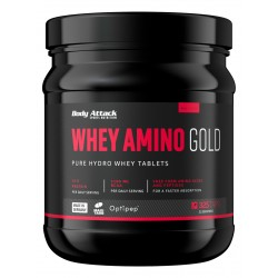 Body Attack, Whey amino gold, 325tab
