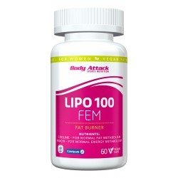 Body Attack, Lipo fem, 60tab