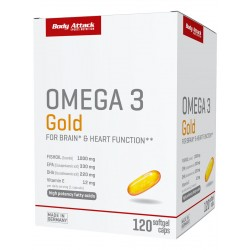 Body Attack, Omega 3 gold, 120ks