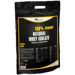 My Supps, 100% Natural Whey Isolate, 2kg