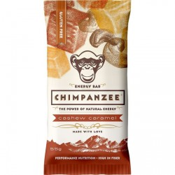 CHIMPANZEE, energy bar cashew caramel, 55g