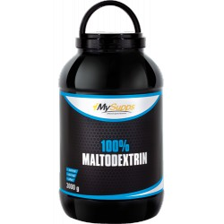 My Supps, 100% Maltodextrin, 3kg