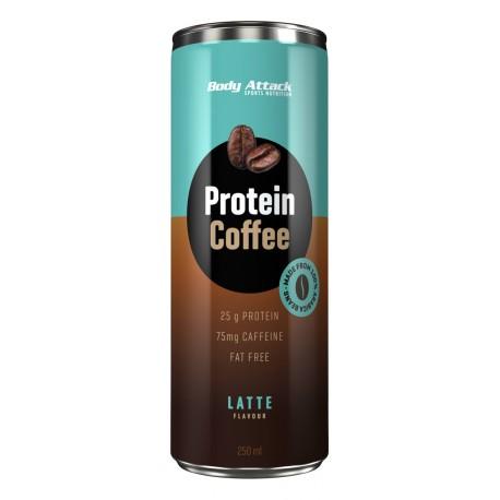 Body Attack Protein Coffee Latte 250ml