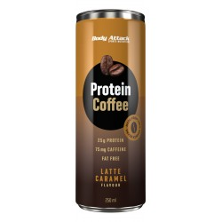 Body Attack Protein Coffee Latte karamel 250ml