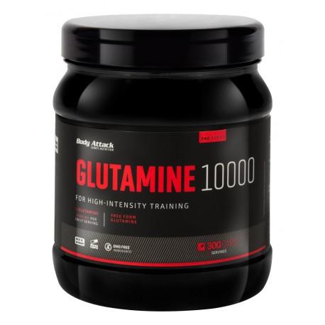 Body Attack, Glutamine 10000, 300tab