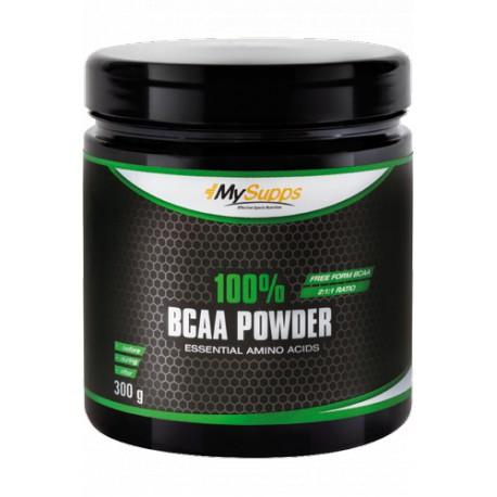 My Supps, 100% BCAA Powder, 300g
