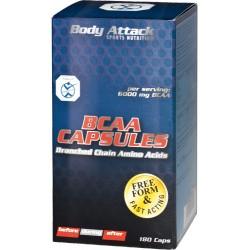 Body Attack, BCAA Kapseln, 180ks