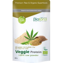 Biotona Veggie Protein 100% Raw powder 300g
