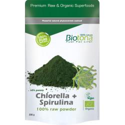 Biotona Chlorella + spirulina 200g