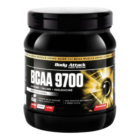 Body Attack, BCAA 9700, 300caps (až na 2 měsíce)