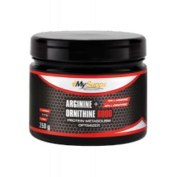 My Supps, Arginine + Ornithine 6000, 250g