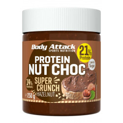 BODY ATTACK PROTEIN NUT CHOC 250g