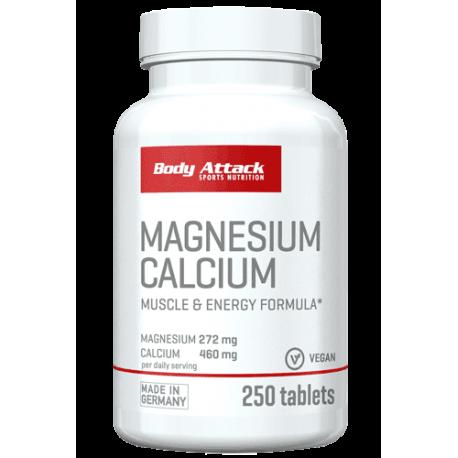 Body Attack, Magnesium Calcium, 250ks