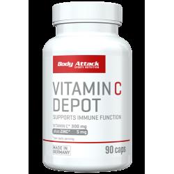 Body Attack, Vitamin C Depot, 90Kaps