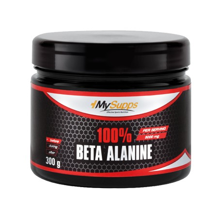 My Supps, 100% Beta Alanine, 300g