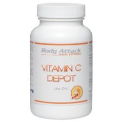 Body Attack, Vitamin C + Zinek, 100ks