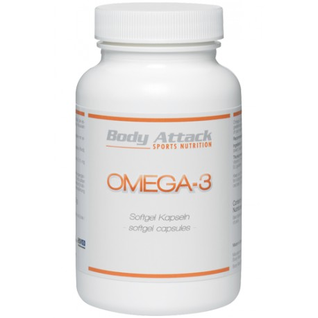 Body Attack, Omega 3, 100 kapslí