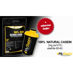 "My Supps 100% Natural Casein, 2kg ""AKCE"""
