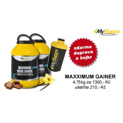 "My Supps, Maxximum Mass Gainer ""AKCE"""