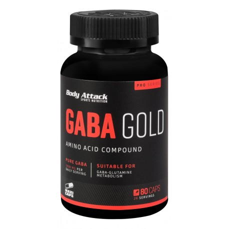 Body Attack, GABA Gold, 80ks
