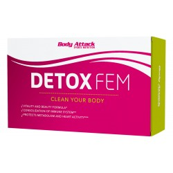 Body Attack DETOX FEM 60 tab.