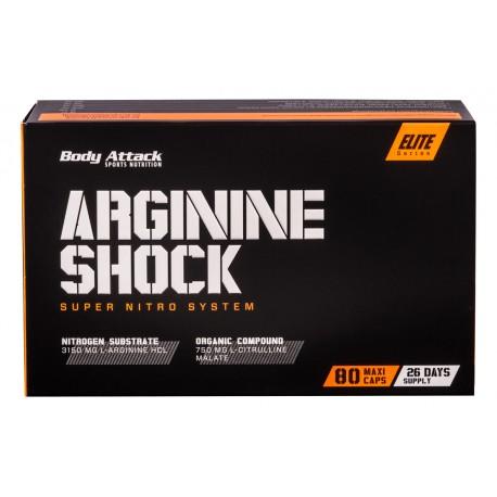 Arginine shock blister 80 kaps